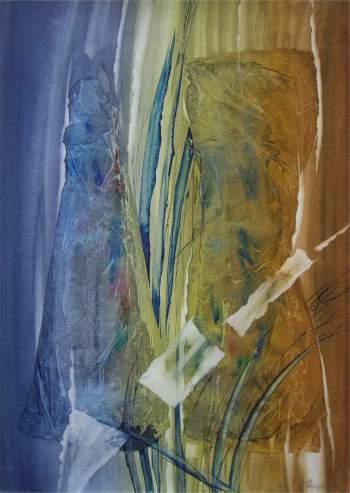 """Eugenijaus Nalevaikos akvarelės paroda """"Andante"""""""