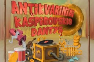 """grupės """"Antikvariniai Kašpirovskio dantys"""" albumas"""