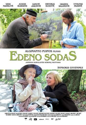 """Algimanto Puipos filmas """"Edeno sodas"""" – čia atgimsta gyvenimo geismas"""