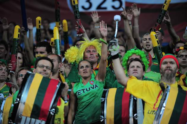 Lietuvos rinktinės fanai