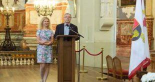 A.Masalskytė ir R.Bagdzevičius (Edgaro Kurausko nuotr.)