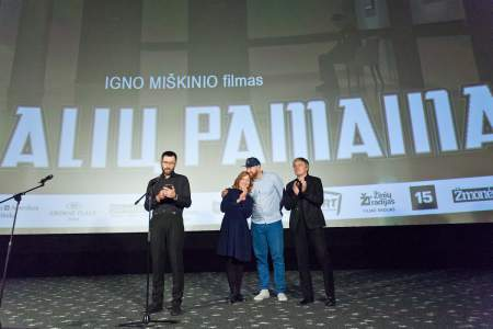 """I. Miškinio filmas """"Karalių pamaina"""" pristatytas lietuviško kino gerbėjams"""